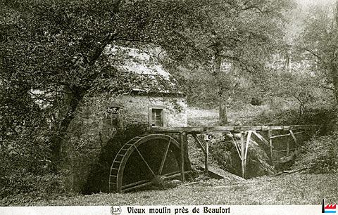 vieux moulin de Beaufort